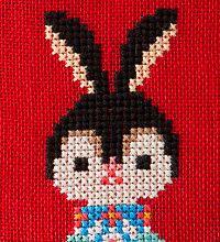 丸岡京子(Gera!) Stitch 2, Cross Stitch Designs, Pixel Art, Knit Crochet, Embroidery, Patterns, Knitting, Sewing, Handmade
