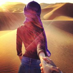 Follow me in the Sahara Desert of Morocco - Photograh by Murad Osmann - #morocco #sahara #desert Maroc Désert Expérience tours http://www.marocdesertexperience.com