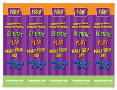 bookmarks - the FISH philosophy