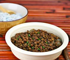 Slow cooker Indian-spiced lentils Recipe on Yummly. @yummly #recipe