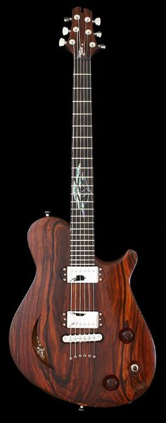 CROW HILL Twisted Limb | Chambered Semi-Hollow Electric Guitar