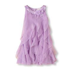 rosette cascade dress   CanadaStore