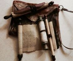HISTORIC CONNECTIONS scrolls from library of Alexandria. film agora (making my own with rolling pins & tea stained contact paper wrapped with leather strips. Larp, Narnia, Half Elf, Cleric, Le Far West, Water Tribe, Character Aesthetic, Dragon Age, Skyrim