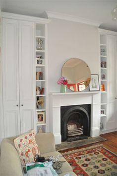 1000 images about beside fireplace storage on pinterest for Walk in fireplace designs