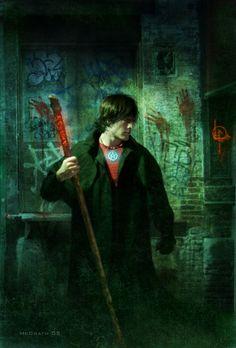 Harry Dresden por Christian McGrath.