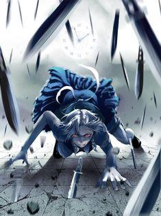 Sakuya Izayoi (Touhou 6 - Embodiment of Scarlet Devil)