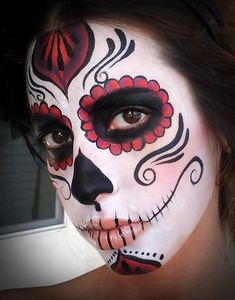 Amazing Face Painting, Professional face painters   Sugar skull makeup