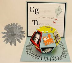 3D Ball Pop-Up Mini Scrapbook - Stampin Up Demo Blogs 2stampis2b, Online Ordering & Tutorials by Michelle Tech Stampin Up Demo