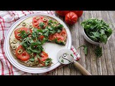 Veglife Channel : Base pizza di quinoa (Senza glutine, Proteica)