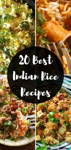 Best Indian Rice Recipes Read here 20 best Indian Rice recipes. All of these recipes are easy and quick ones. These makes perfect main course and also great tiffin box recipes. Best Rice Recipe, Rice Recipes Vegan, Vegetarian Recipes, Cooking Recipes, Healthy Recipes, Cheap Recipes, Fast Recipes, Curry Recipes, Pizza Recipes