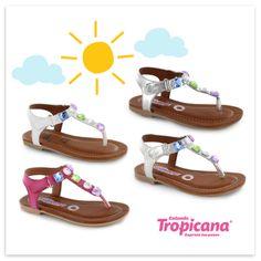 ¡Llegaron las sandalias! Perfectas para salir de paseo o para un evento con las amigas de tu princesa. #Primavera #Tropicana