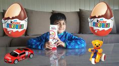 Kinder Surprise eggs toys unboxing opening chocolate egg with toy ABabyC