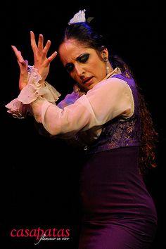 La bailaora Lidón Patiño. Foto: Martín Guerrero