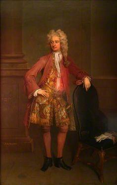 Arthur Vansittart (detail) ~ Michael Dahl I