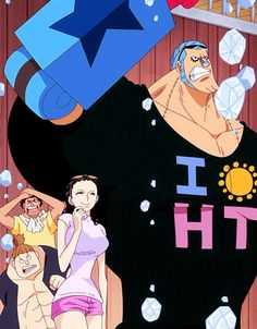 FRobin/ Franky and Robin/ One Piece