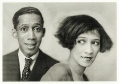 Louis Douglas and Marion Cook in the Berlin revue Word of Mouth, 1926.