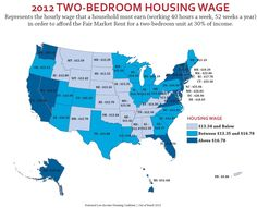 The Minimum Wage and the Cost of Housing (click thru for analysis)