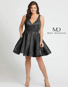 Mac Duggal Fabulouss Short Plus Size Prom Dress 48891F   DressOutlet – The Dress Outlet Beautiful Cocktail Dresses, A Line Cocktail Dress, Beautiful Gowns, Stunningly Beautiful, Grad Dresses, Pageant Dresses, Club Dresses, Nice Dresses, Club Outfits