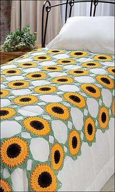#Ravelry Helios Coverlet #crochet #pattern by Shannon Mullett-Bowlsby of #Shibaguyz Designz for Crochet World Magazine, August 2013