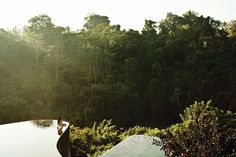 """The tiered infinity pool at [link url=""""https://hanginggardensofbali.com/""""]Hanging Gardens of Bali[/link], set on top of a cliff and surrounded by rainforest. Every room in the hotel has its own infinity-edge pool with similarly verdant views. [link url=""""http://www.cntraveller.com/photos/photo-galleries/amazing-swimming-pools/viewgallery/1068625""""][/link]"""