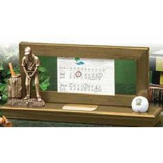 Golf Gifts Scorecard and Ball Display Hole In One Gifts For Golfers, Golf Gifts, Auction Ideas, Hole In One, Silent Auction, Golf Outfit, Ladies Golf, Golf Shoes, Your Cards
