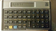"""HP 11C compact RPN scientific calculator.  This is one of five compact """"Voyager"""" models initially made in the early 1980s. The 11C was not made after 1989, so they are somewhat rare and cost nearly as much now as they did when they were new.   This is a very capable little calculator. Not only is it packed with features, I like the horizontal layout and small size for an RPN scientific."""