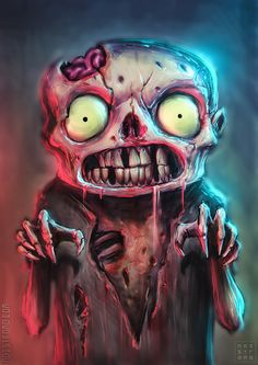 Cute #zombie (boy, there's a word-sequence I never thought I'd use :-p )