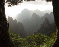 Huangshan Mountain, China. By Ohke