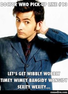 Doctor Who Pick-Up Lines!