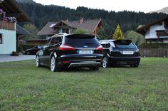 #Ford #Mondeo S / ST and black Ford Focus mk1