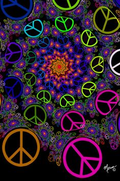 29 ideas mandala art wallpaper peace signs for 2019 Paz Hippie, Hippie Peace, Happy Hippie, Hippie Love, Hippie Chick, Hippie Style, Peace Love Happiness, Peace And Love, Peace Sign Art