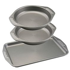 Circulon Nonstick Bakeware 3Piece Cookie and Cake Set -- Visit the image link more details.