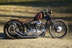 Bobber Inspiration   Ironhead bobber   Bobbers and Custom Motorcycles
