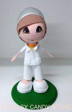 Fofucha Enfermera IMSS.