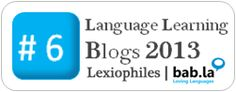 No. 6 Learning Blog 2013