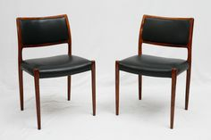 Set Of 6 Rosewood Niels Moller Dining Chairs image 2