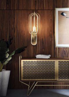 25 Striking Modern Lamps You Will Want To Have Next Season | Interior Design Inspiration. Home Decor. Wall Lamps. Wall Light. #modernlamps #interiordesign #walllight Read more: https://www.brabbu.com/en/inspiration-and-ideas/interior-design/striking-modern-lamps-want-season