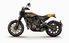 The Bullitt: 2015 Ducat Scrambler Full Throttle