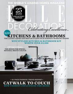Elle Decoration UK cover march 2014