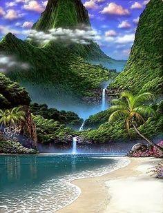 TourismGreetings : Waterfall Beach, Australia