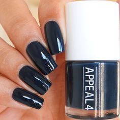 No. 141 Blue planet  Back to Copenhagen collection  A deep navy blue nail polish perfect for Autumn and winter.