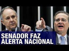 CLICK NA IMAGEM  : Senador Cristóvam Buarque faz alerta nacional: 'Querem enganar o povo, em nome de combater abuso de autoridade, querem proteger autoridades'; veja vídeo