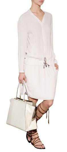 Brunello Cucinelli Silk Dress @ Stylebop