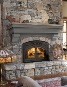 Most current Free of Charge large Stone Fireplace Style Hadley Cottage Fireplace Shelf Mantel Cottage Fireplace, Fireplace Shelves, Mantel Shelf, Open Fireplace, Fireplace Remodel, Fireplace Inserts, Diy Fireplace, Stone Fireplace Makeover, Fireplace Makeovers