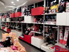 Kumamon store in Japan.