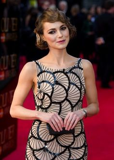 Kara Tointon Photo - The Olivier Awards 2012 fashion