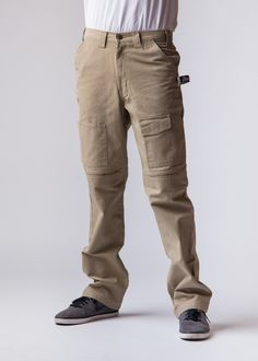 400a7062 Tan Work Pants with Built in Knee Pads - Tan Work Pants with Built in Knee