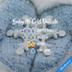 Baby Its Cold Outside - Essential Oil Diffuser Blend