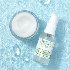 Both Hyaluronic Dew Cream and Hyaluronic Dew Drops contain a moisture-loving complex that features two molecular weights of Sodium Hyaluronate for multilevel hydration. That way, you get all of the dewiness and none of the heaviness. (Can we get a #yesplease!) 🙌🏼 Massage Facial, Dew Drops, Good Skin, Beauty Skin, Moisturizer, Skin Care, Summer Skin, Weights, Routine