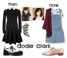 """""""Dodie Clark Inspired Outfit"""" by actualautumn on Polyvore featuring RED Valentino, Mulberry, Dorothy Perkins, Robert Clergerie, youtube and dodieclark"""